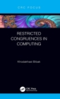 Image for Restricted congruences in computing