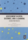 Image for Assessment in Open, Distance, and e-Learning : Lessons from Practice