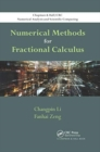Image for Numerical methods for fractional calculus