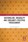 Image for Nationalism, inequality and England's political predicament