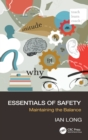 Image for Essentials of safety  : maintaining the balance