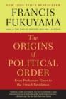 Image for ORIGINS OF POLITICAL ORDER