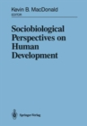 Image for Sociobiological Perspectives on Human Development