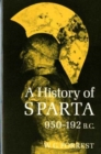 Image for A History of Sparta, 950-192 B.C.