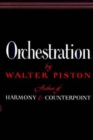 Image for Orchestration  : by Walter Piston