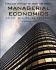 Image for Managerial economics  : theory, applications, and cases