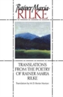 Image for Translations from the Poetry of Rainer Maria Rilke