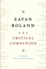 Image for Eavan Boland : A Critical Companion
