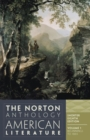 Image for The Norton Anthology of American Literature