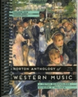 Image for Norton anthology of Western musicVolume 1,: Ancient to Baroque