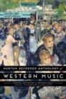 Image for Norton Recorded Anthology of Western Music