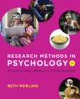 Image for Research Methods in Psychology : Evaluating a World of Information
