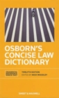 Image for Osborn's concise law dictionary