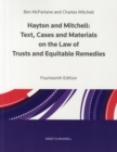 Image for Hayton and Mitchell on the Law of Trusts & Equitable Remedies : Texts, Cases & Materials