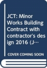 Image for Minor works building contract with contractor's design 2016