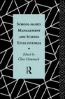 Image for School-Based Management and School Effectiveness