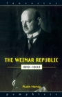 Image for The Weimar Republic, 1919-1933