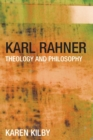 Image for Rahner  : theology and philosophy