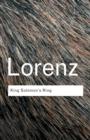 Image for King Solomon's ring  : new light on animal ways