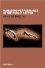 Image for Managing performance in the public sector