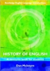 Image for History of English  : a resource book for students