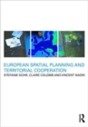 Image for European spatial planning and territorial cooperation