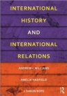 Image for International history and international relations