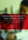 Image for Managing in health and social care