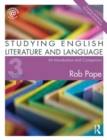 Image for Studying English literature and language  : an introduction and companion