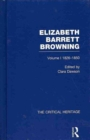 Image for Elizabeth Barrett Browning