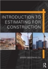 Image for Introduction to estimating for construction