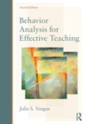 Image for Behavior analysis for effective teaching