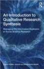 Image for An Introduction to Qualitative Research Synthesis : Managing the Information Explosion in Social Science Research