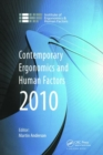 Image for Contemporary ergonomics and human factors 2010  : proceedings of the International Conference on Contemporary Ergonomics and Human Factors 2010, Keele, UK
