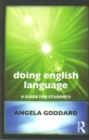 Image for Doing English language  : a guide for students