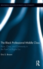 Image for The black professional middle class  : race, class, and community in the post-civil rights era