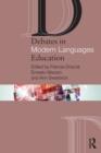 Image for Debates in modern languages education