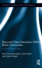 Image for Race and class distinctions within black communities  : a racial-caste-in-class