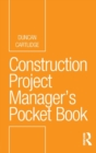 Image for Construction project manager's pocket guide