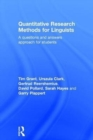 Image for Quantitative research methods for linguistics  : a guide for students