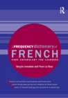 Image for A Frequency Dictionary of French : Core Vocabulary for Learners