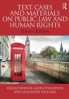 Image for Text, cases and materials on public law and human rights