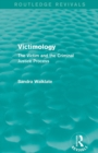 Image for Victimology  : the victim and the criminal justice process