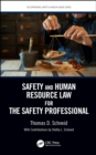 Image for Safety and human resource law for the safety professional