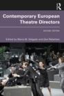 Image for Contemporary European Theatre Directors