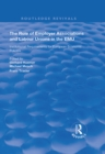 Image for The role of employer associations and labour unions in the EMU: institutional requirements for European economic policies
