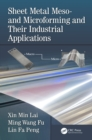 Image for Sheet Metal Meso- and Microforming and Their Industrial Applications