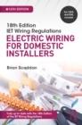 Image for IET wiring regulations: electric wiring for domestic installers
