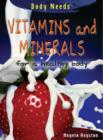 Image for Vitamins and minerals for a healthy body