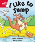 Image for Rigby Star Guided Reception: Red Level: I Like to Jump Pupil Book (single)